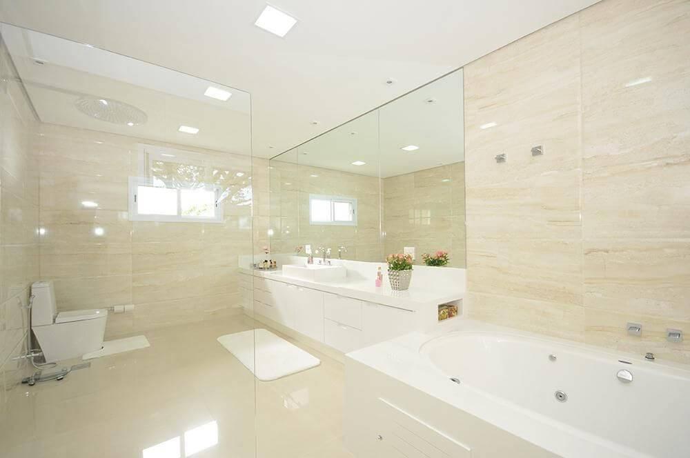 espelho para banheiro grande com bancada belissa corral 20701