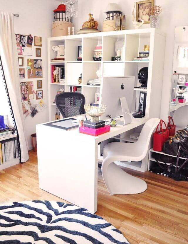 estante de parede home office nadine guerra 28434