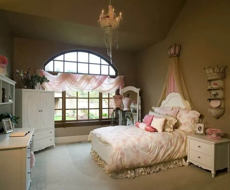 decoração para quarto de princesa