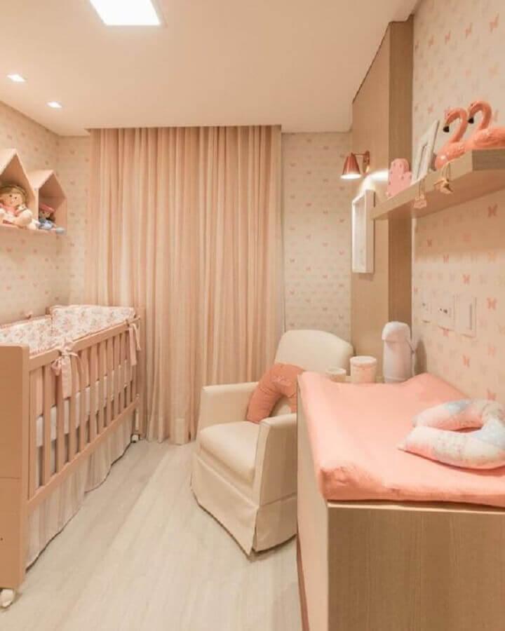 small and narrow baby room decor Photo Pinterest