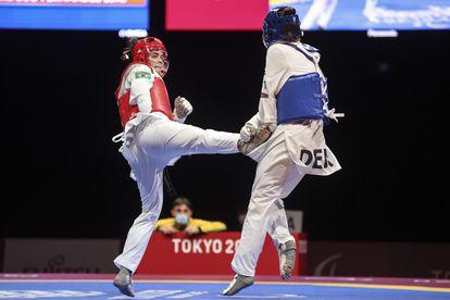 Silvana Fernandes foi bronze no parataekwondo.