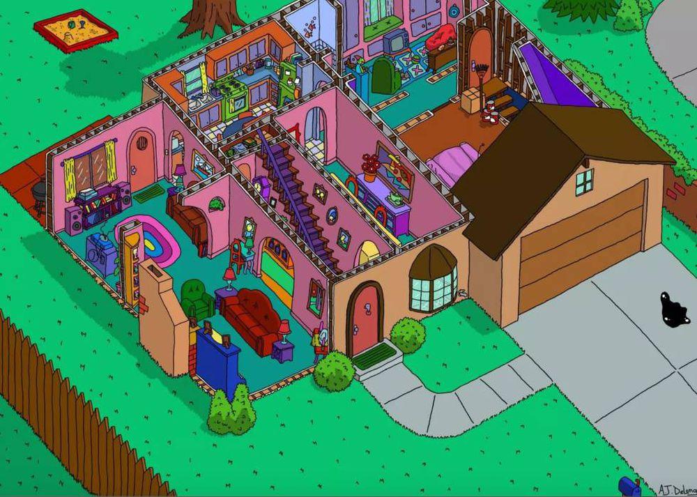 A casa dos Simpsons tem um cômodo que nem os mais fãs conheciam