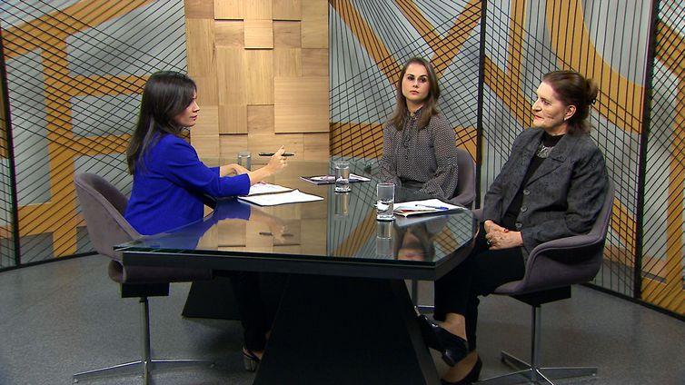 Procuradora do Trabalho Renata Coelho e socióloga Lourdes Bandeira no Diálogo Brasil