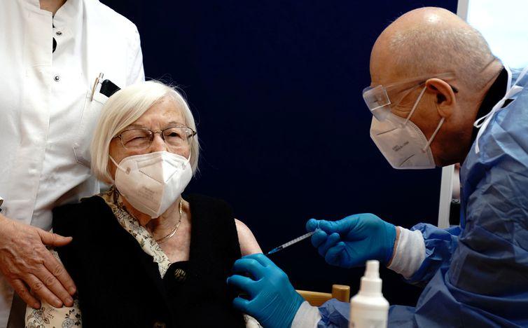 Germany begins vaccinations against coronavirus disease (COVID-19)