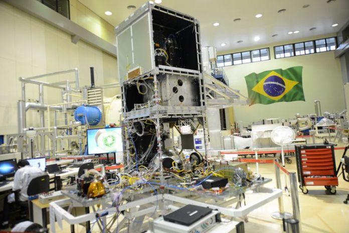 Amazonia 1, satélite de Observação da Terra .