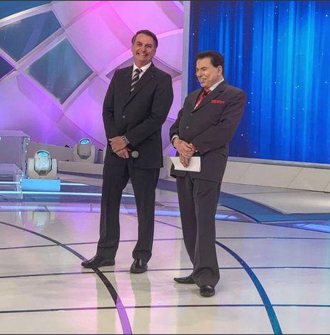Bolsonaro, Silvio Santos, Programa