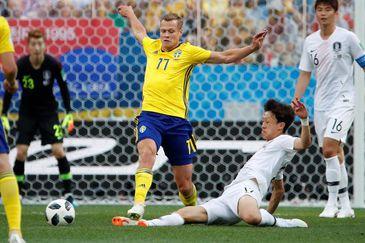 Copa 2018, Suécia e Coréia do Sul, Lances