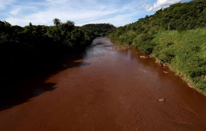 General view of mud-filled Paraopeba river, after a tailings dam owned by Brazilian mining company Vale SA collapsed, in Mario Campos near Brumadinho, Brazil, January 27, 2019. REUTERS/Washington Alves