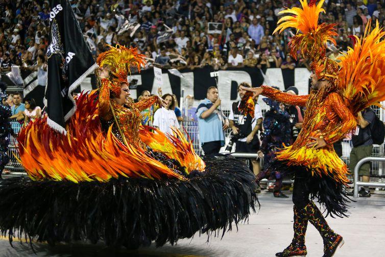 São Paulo - Escola de Samba Gaviões da Fiel no primeiro dia do desfile das escolas do grupo especial de São Paulo, no Sambódromo do Anhembi (Divulgação/Paulo Pinto/LigaSP)