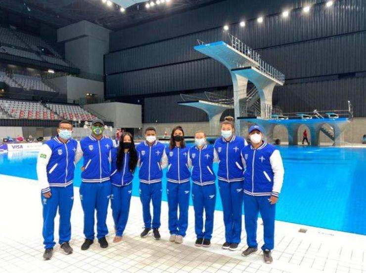 seleção brasileira - saltos ornamentais - Copa do Mundo - Tóquio - Pré-Olímpico