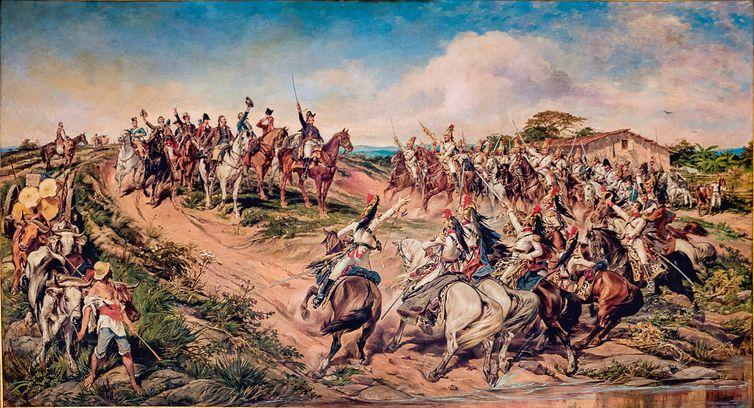 Independência do Brasil, Pedro Américo, Gravuras, imagens antigas ,independência.