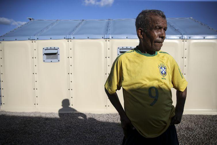 Tomás Delfin Planez veio de Pacaraima para Boa Vista depois do conflito que envolveu um grupo de brasileiros e imigrantes venezuelanos no último sábado (18).