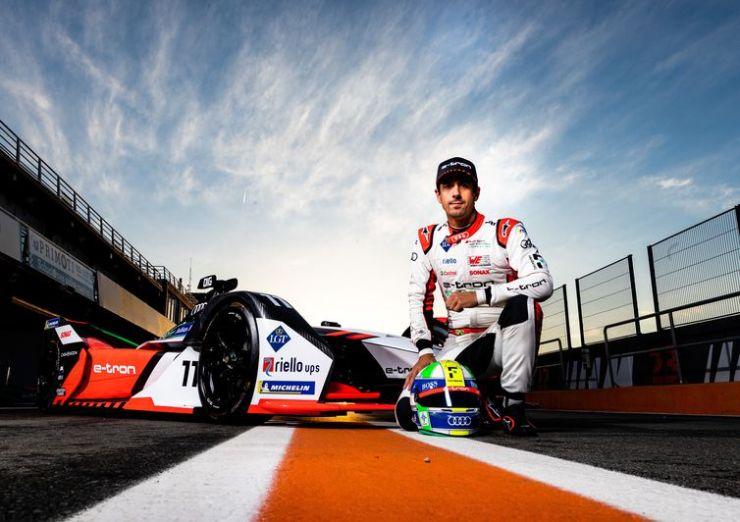 Formula E, test Valencia 2020, Lucas Di Grassi