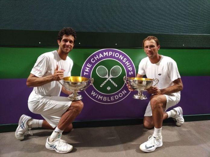 Marcelo Melo e Lukazs Kubot - prêmio - Wimbledon