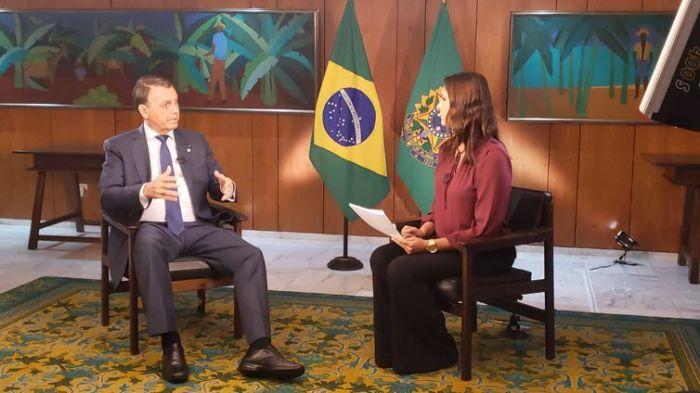 Entrevista do Presidente Jair Bolsonaro