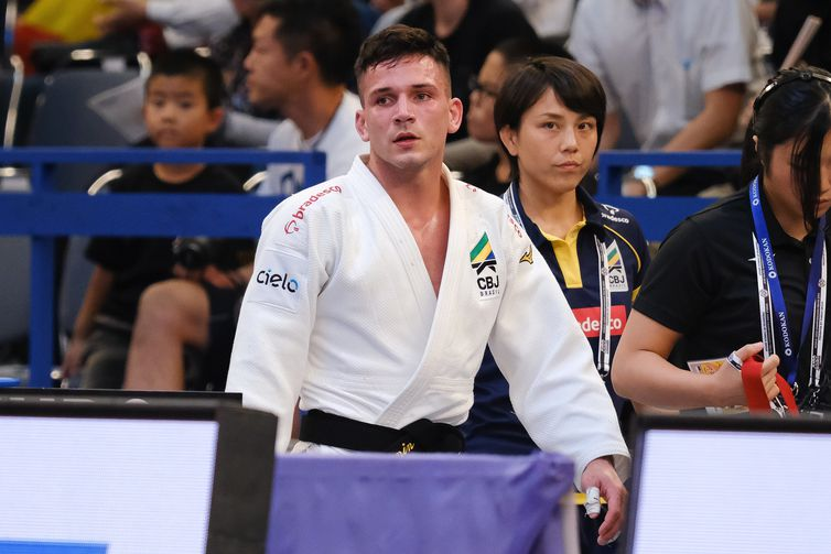 Daniel Cargnin, judoca brasileiro, no Mundial Judô Senior Tóquio 2019 - 26/08/2019