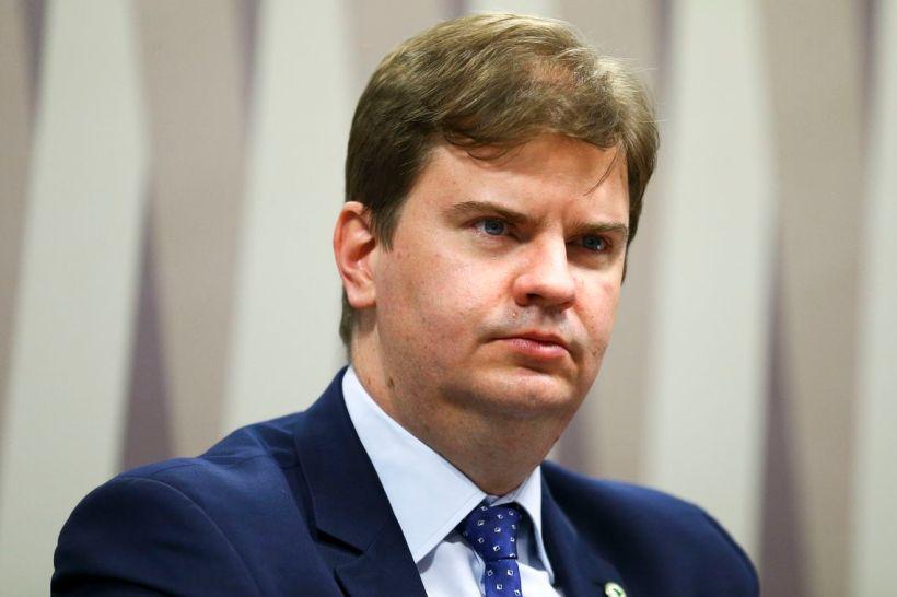 O ministro do Desenvolvimento Regional, Gustavo Canuto, participa de audiência pública na Comissão de Desenvolvimento Regional e Turismo do Senado.