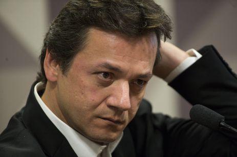 Brasília - O empresário Wesley Batista durante audiência na Comissão Parlamentar Mista de Inquérito da JBS (Marcelo Camargo/Agência Brasil)