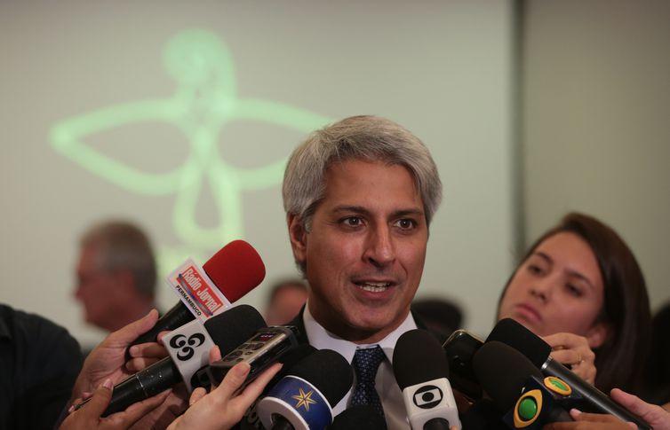 Brasília - Deputado Alessandro Molon durante abertura oficial da Campanha da Fraternidade 2017, na CNBB (José Cruz/Agência Brasil)