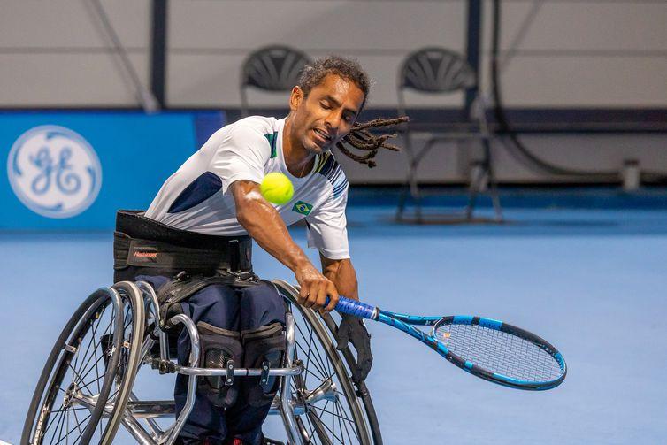 YMANITU GEON DA SILVA - Classificatória do Tenis em cadeira de roda