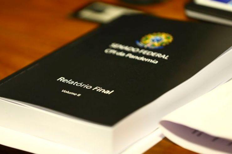 Sessão para leitura do relatório da CPI da Pandemia.