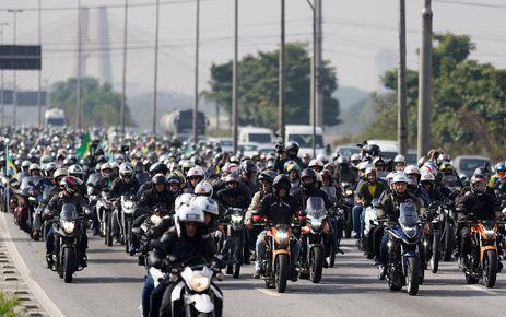 Jair Bolsonaro passeio de moto