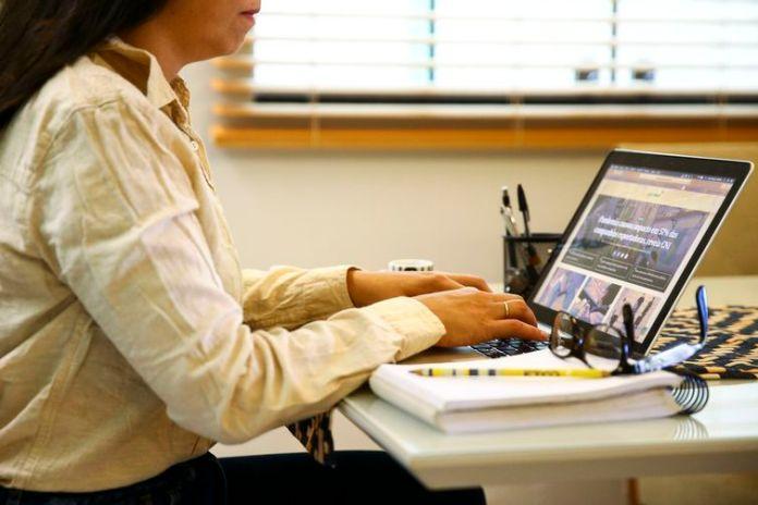 Teletrabalho, home office ou trabalho remoto.