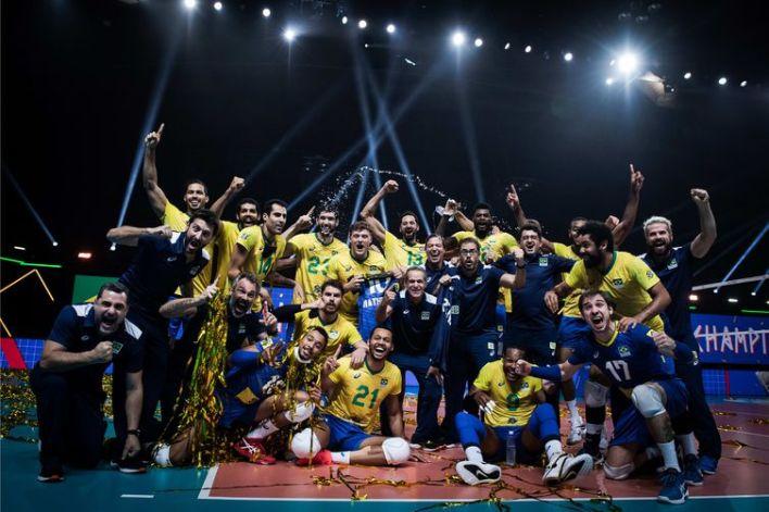 vôlei, seleção brasileira, liga das nações