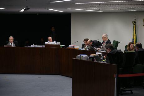Sessão da Segunda Turma do STF para decidir se os irmãos Geddel e Lúcio Vieira Lima viram réus no caso das malas com R$51 milhões encontradas em um apartamento em Salvador.