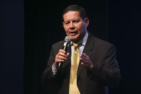 O vice-presidente da República, Hamilton Mourão, participa do Seminário Brasil de Ideias - Abertura do Ano de 2019.