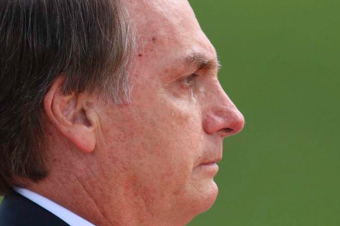 Presidente Jair Bolsonaro deixa o Congresso Nacional após tomar posse. Depois de passar as tropas em revista, o presidente seguiu para o Palácio do Planalto.