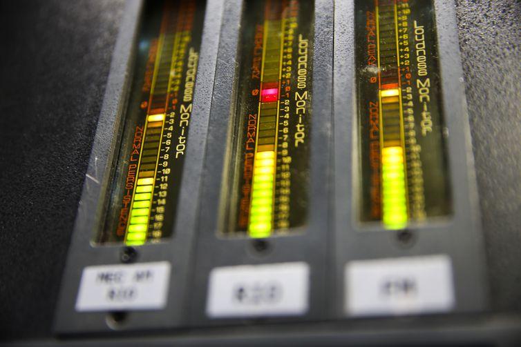 Rádio,Monitor de volume, Loudness Monitor