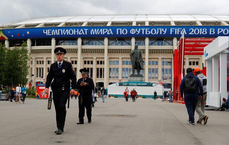 A Copa do Mundo Rússia 2018 tem início hoje (14), às 12 (horário de Brasília), com o jogo entre as seleções do país anfitrião e da Arábia Saudita, no histórico Estádio Luzhniki, em Moscou