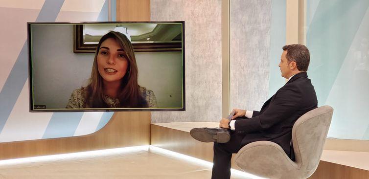 Doutora em direito tributário, Hadassah Santana, professora da Escola de Políticas Públicas e Governo da Fundação Getúlio Vargas (FGV) - Divulgação/TV Brasil
