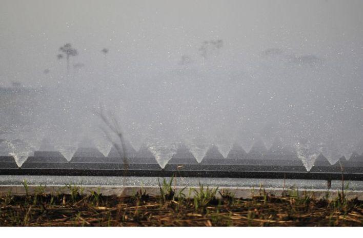 irrigação, água