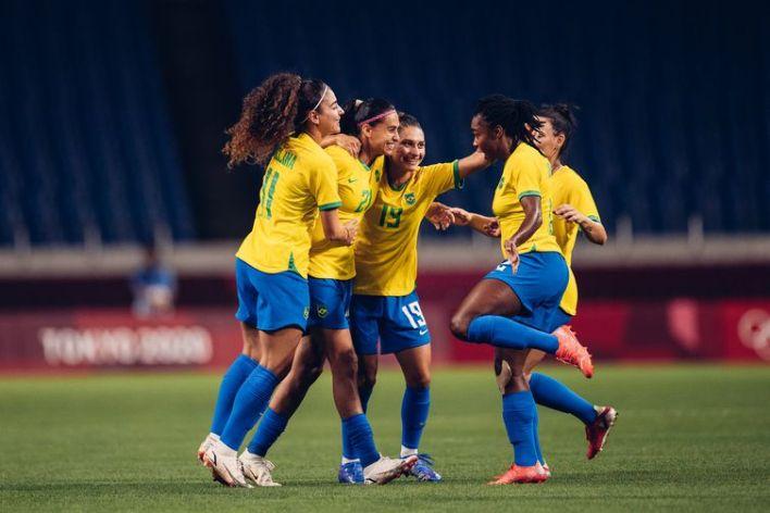 Brasil bate a Zâmbia por 1 a 0 na última partida da fase de classificação de Tóquio 2020.