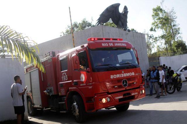 Incêndio, Flamengo, Ninho do Urubú REUTERS/Ricardo Moraes