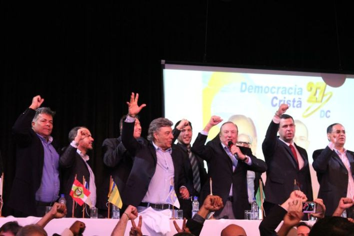 Convenção Nacionald do Partido Social Democrata Cristão lança Eymael como seu nome para a disputa pela Presidência da República