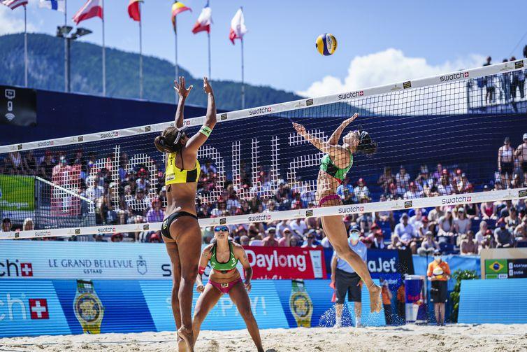 Final brasileira na Suiça - Ana Patrícia/Rebecca  - vôlei de praia feminino- brasil