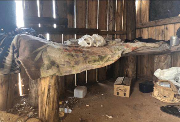 Flagrante de escravidão moderna em Mato Grosso do Sul, no município de Bela vista.