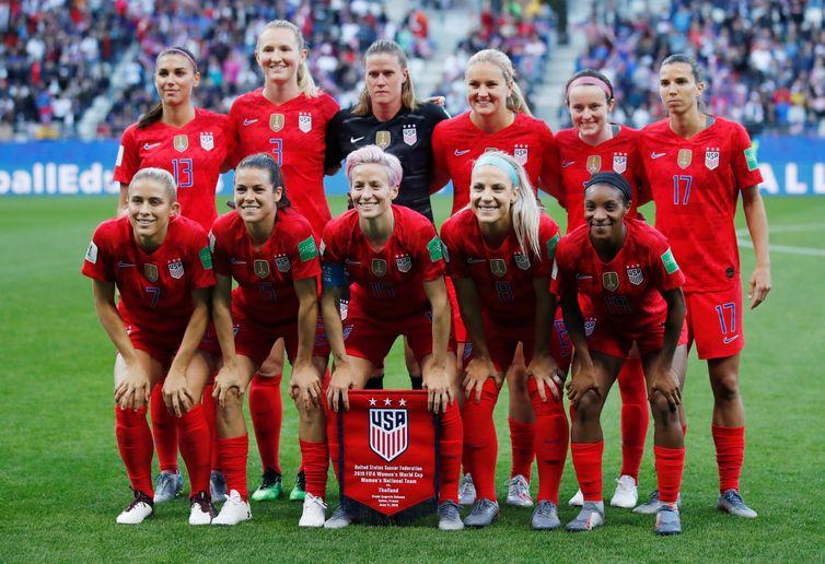 Seleção dos Estados Unidos na Copa do Mundo de Futebol Feminino - França - 2019.