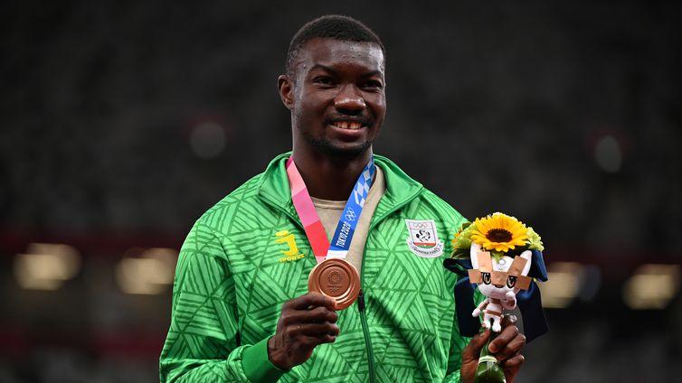 Hugues Fabrice Zango, salto triplo, Burkina Faso, tóquio 2020, olimpíada