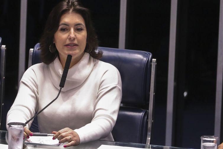 Senadora Simone Tebet, presidente da Comissão de Constituição, Justiça e Cidadania (CCJ)