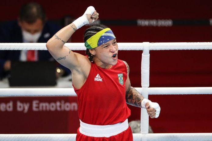 Bia Ferreira estreia com vitóória no boxe em Tóquio - Olimpíada