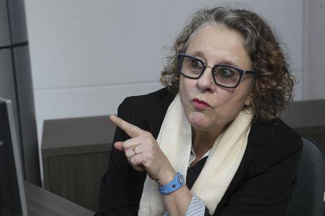 Moradora de Jaraguá do Sul há mais de 50 anos, a recepcionista Maria Clarinda Venturelli Gonzaga dos Santos.