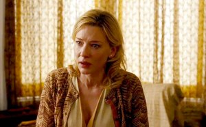Cate Blanchett e seu problemático personagem em Blue Jasmine