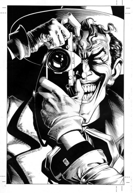 O mistério envolvendo a capa de A Piada Mortal (Batman: The Killing Joke)