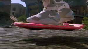Hoverboard em ação