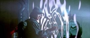 James Spader em contato com o Stargate