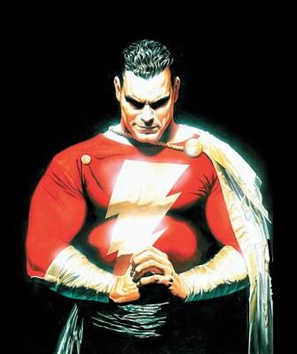 O clássico, quando ainda era chamado de Capitão Marvel...